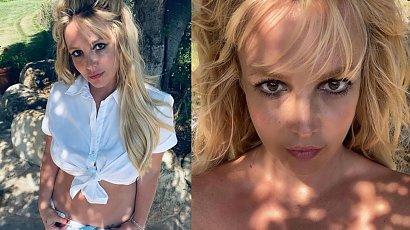 Britney Spears znów odsłania gołe piersi! W końcu zdradziła, dlaczego to robi!