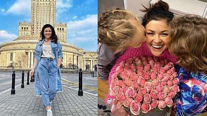 Katarzyna Cichopek używa córki do promocji. Spójrzcie, czym bawi się Helenka!