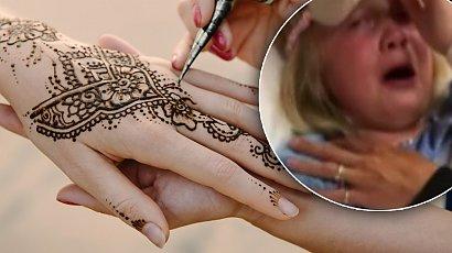 Tatuaż z henny wypalił 7-latce skórę. Dziewczynka wiła się z bólu i błagała o pomoc
