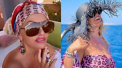 """Dagmara Kaźmierska z """"Królowych życia"""" pojechała na ślub na Zanzibar! Pokazała sukienkę na ślub na plaży"""