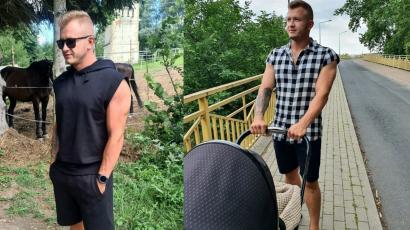 """Dawid Narożny pokazał ślubne zdjęcie: """"Twoja żona ma przerażającą twarz. Chciała zabłysnąć, ale jej nie wyszło"""" - komentują fani"""
