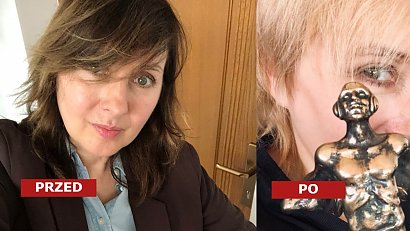 Edyta Bartosiewicz zmieniła fryzurę! Dobrze jej w pixie cut i platynowych blond włosach?