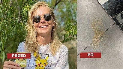 Edyta Pazura przedłużyła włosy i obcięła grzywkę curtain bangs! Dobrze jej w doczepach?