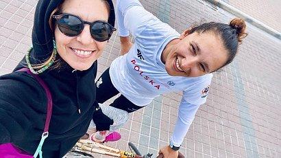 Polska srebrna medalistka zostanie mamą! Jolanta Ogar-Hill i jej żona Chuchie Hill spodziewają się córeczki.
