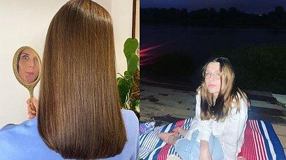 """Julia Kamińska wygląda coraz młodziej? W tej stylówce zdecydowanie! """"Myślałam, że to fotka z liceum"""" - ktoś napisał"""