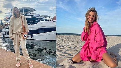 Joanna Koroniewska korzysta z wakacji. Gdzie wybrała się z rodziną?