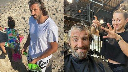 """Maciej Dowbor już tak nie wygląda. Nowa fryzura odjęła mu 15 lat:""""Wreszcie wyglądasz jak człowiek"""" - komentują internauci"""