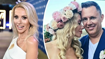 Małgorzata Opczowska wyszła za mąż! Suknia ślubna w stylu boho, wianek na głowie i ślub na plaży!