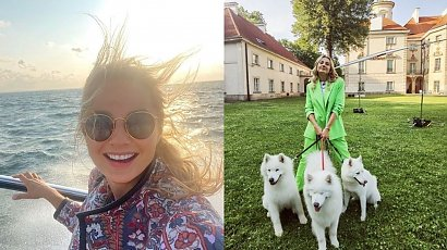 """Córka Małgorzaty Socha skończyła 8 lat. Jej tort urodzinowy to prawdziwa petarda:""""Co za cudo, aż żal jeść"""" - piszą fani"""
