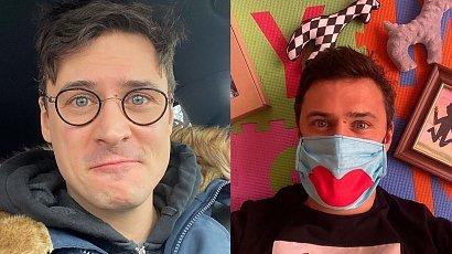 """Mateusz Damięcki przeszedł metamorfozę: """"Z tym wąsem wyglądasz jak byś miał z 20 lat więcej """" - fani mają rację?"""
