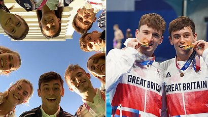 Złoty medalista Igrzysk Olimpijskich 2020 szydełkuje! Zobaczcie hobby Toma Daley.