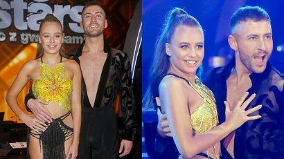"""Oliwia Bieniuk w """"Tańcu z Gwiazdami"""" w sukience z frędzelkami odsłania zgrabne ciało! A gdy się odwróciła..."""