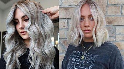 Odważysz się na siwy blond? Zobacz, czy do Ciebie pasuje!