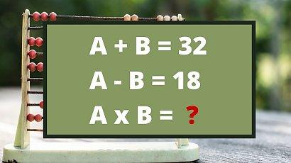 Ta zagadka spędza sen z powiek internautom! Niby prosta, ale mało kto zna poprawny wynik!