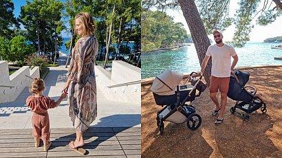 Agnieszka Kaczorowska zabrała swoją rodzinę na Chorwację. W komentarzach rozpętała się burza....