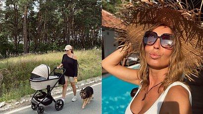 """Synek Agnieszki Włodarczyk skończył 2 miesiące. Pokazała jego nowe zdjęcie: """"Rośnie jak na drożdżach"""""""