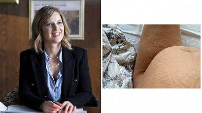 Aleksandra Domańska pokazała nietypowe zdjęcie ciążowego brzuszka! Trzeba spojrzeć dwa razy...