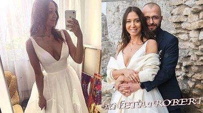 """Aneta ze """"Ślubu od pierwszego wejrzenia"""" pokazała niepublikowane zdjęcia z ceremonii! Czy jest z Robertem?"""