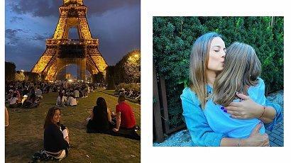 Anna Mucha pojechała z dziećmi do Paryża. Narzeka na jedną kwestię...