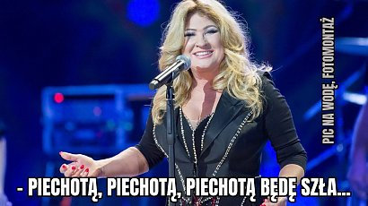 """Beata K. zatrzymana. Lawinowo powstają memy o znanej wokalistce! """"A teraz promile mam dwa"""""""