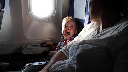 """""""Powinny być samoloty, które latają bez dzieci. Na urlop poleciałam w stresie, bo jakieś dziecko ryczało"""""""