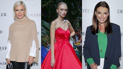 Pokaz mody Deni Cler na jesień-zimę 2021/22! Nasze serce skradła czerwona sukienka. Oceniamy stylizacje gwiazd!