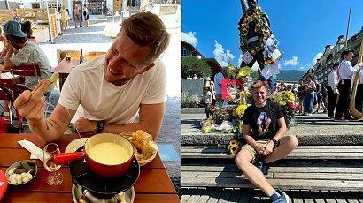 Filip Chajzer na urlopie w Szwajcarii. Niestety nie wszystko poszło zgodnie z planem...