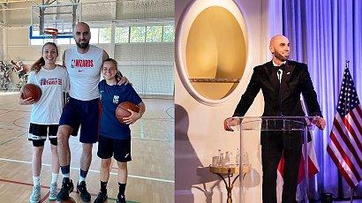 Marcin Gortat jest legendą koszykówki. Czym zajmuje się po zakończeniu kariery?