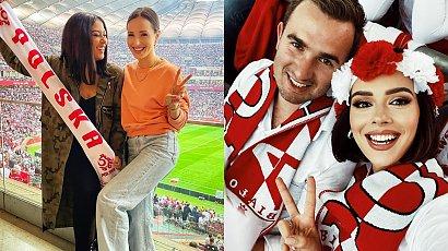 Tak polskie gwiazdy dopingowały naszych piłkarzy podczas meczu Polska-Anglia