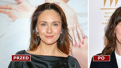 """Ilona Ostrowska już tak nie wygląda! Lucy z """"Rancza"""" ma nową fryzurę. Pasuje jej grzywka?"""
