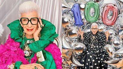Iris Apfel – ikona mody, która pod koniec sierpnia skończyła 100 lat i nie zwalnia tempa. Jaki jest przepis na sukces niezależnie od wieku?