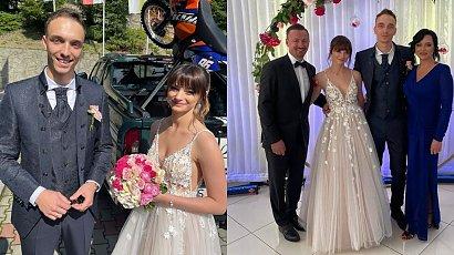 Karolina Małysz pokazała pierwszy taniec! Jej druga suknia ślubna pięknie układała się w ruchu! Znamy cenę i markę kreacji