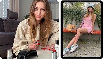 Joanna Opozda reklamuje markę do stylizacji paznokci. Fani kpią z celebrytki...
