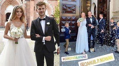Joanna Opozda pokazała sukienkę na wesele Julii Królikowskiej! Dobrze jej w czarno-białych cętkach i koronce?