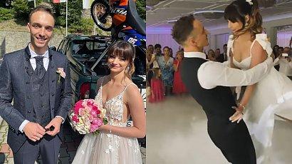 Karolina Małysz pokazała zwiastun ślubny! Tak wyglądało szalone góralskie wesele córki Adama Małysza