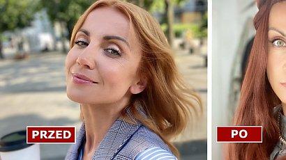 Katarzyna Zielińska przeszła metamorfozę! W długich, ciemnych włosach jest nie do poznania. Pasuje jej taka fryzura?