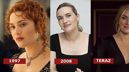 Emmy 2021: Kate Winslet w czarnej jedwabnej sukience z dekoltem w serek i w eleganckim koku. Fani zachwyceni: Jak zawsze pięknie!