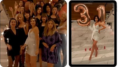 Klaudia Halejcio otrzymała bardzo drogi prezent na 31 urodziny! Nie każdego na to stać...