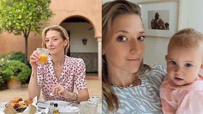 """Lara Gessler na zdjęciu z dzieciństwa: """"Słodka z charakterkiem"""" - pisze Magda Gessler. """"Ale jaki słodziak"""" - komentują fani"""