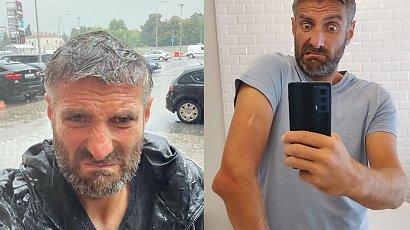 """Maciej Dowbor pokazał jak bawi się z córeczką"""" Ale w Ciebie wpatrzona, jesteś dla niej bohaterem"""" - piszą internauci"""