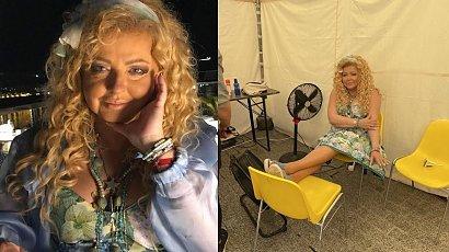 """Stęskniona Magda Gessler pochwaliła się nowym zdjęciem wnuczki: """"Ale z Neny pulpecik, grubiutka buźka"""" - twierdzą internauci"""
