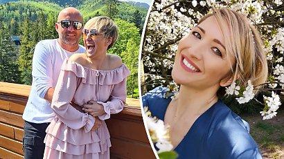 Magda Steczkowska pokazała ślubne zdjęcia sprzed 20 lat! Miała czarne włosy, a sukienkę pożyczyła od siostry!