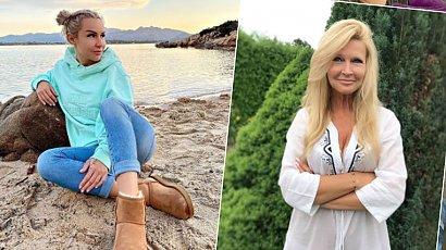 60-letnia mama Blanki Lipińskiej pręży się w bikini na Malediwach. Płaski brzuch i ciało 30-latki!