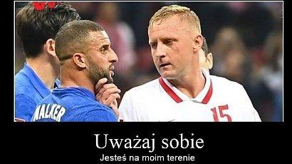 Mecz Polska-Anglia: Polacy zremisowali 1:1! Internauci tworzą memy! Kamil Glik i jego mina najlepsze!