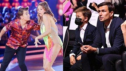 Oliwia Bieniuk zatańczyła z bratem, Szymonem! Tata i najmłodszy brat obserwowali występ z widowni! Jaś to cała mama?