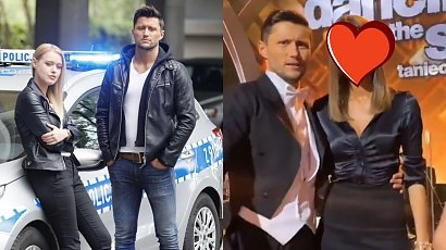 """Piotr Mróz z """"Gliniarzy"""" pokazał swoją dziewczynę w """"Tańcu z Gwiazdami""""! Co za ślicznotka! Pasują do siebie?"""
