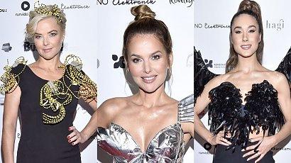 Moda na recykling - ubrania z elektroodpadów! Sykut w srebrnej sukience skradła show! Kto miał najlepszą stylizację?