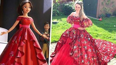 21-latka tworzy niesamowite suknie księżniczek Disneya! Od tych kreacji trudno oderwać wzrok!