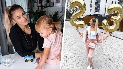 """Sylwia Przybysz pokazała córeczkę! Nela wkrótce skończy 6 miesięcy. """"Ale już duża, cały Jasiek"""" - oceniają fani"""