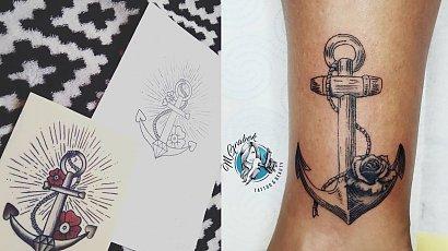 Legendarny tatuaż-kotwica! Czy nadal jest modny?